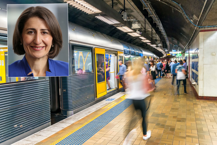 Article image for Premier Gladys Berejiklian: Inconveniencing commuters is 'inexcusable'