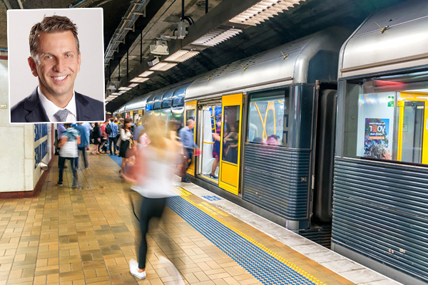 Article image for Andrew Constance says rail drivers like the overtime