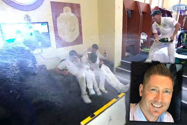 Did Australia's booze-soaked Ashes celebrations go too far?