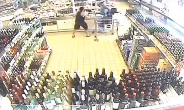 WATCH: CCTV footage captures horrific attack at ALDI