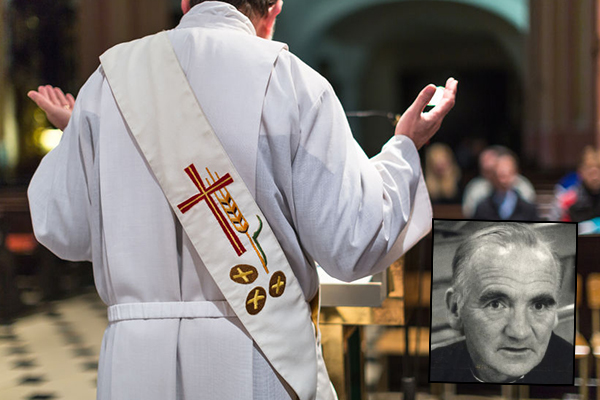 Article image for Finian Egan named as paedophile priest fighting deportation