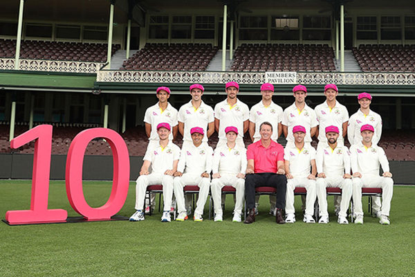 McGrath Foundation celebrates 10th anniversary of the Pink Test