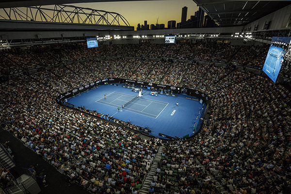 Article image for Australian Open returns bigger than ever