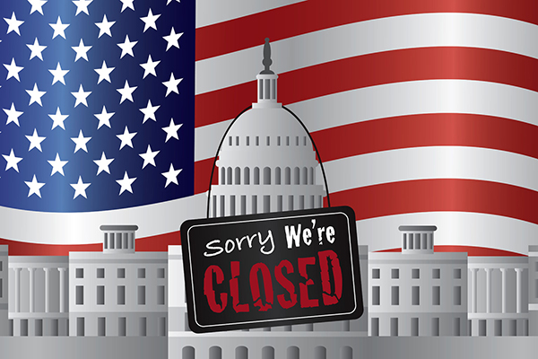 Article image for US Government shutdown drags on