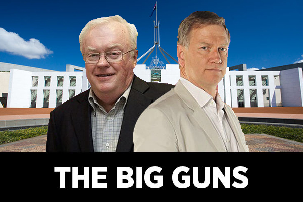 Article image for The Big Guns are back: 'Those idiots led by the Greens can get nicked'