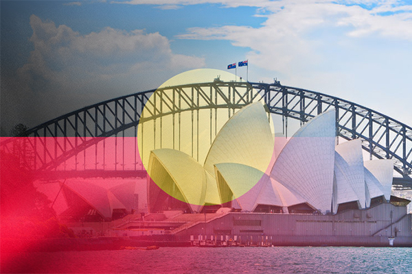 Push to keep Aboriginal flag on the Harbour Bridge year-round