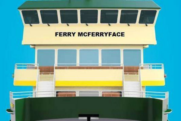 Ferry McFerryface renamed after Ray Hadley revelations