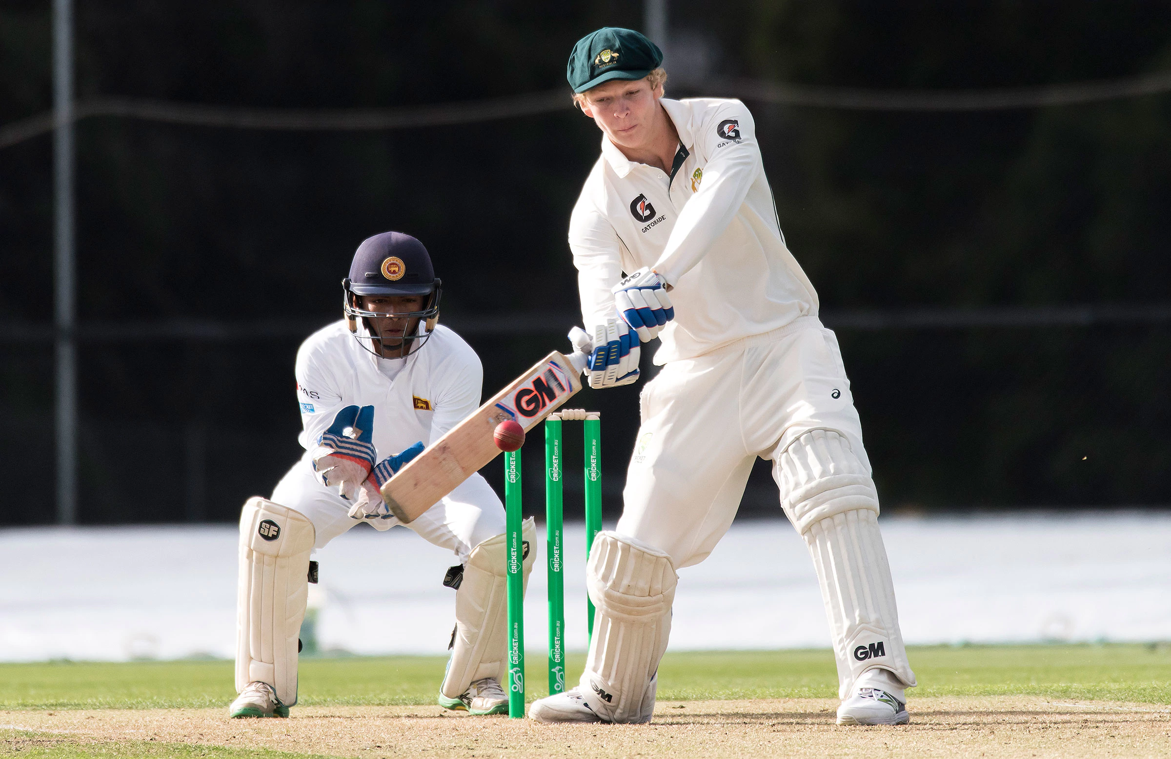 U19s prepare to face Afghanistan in the World Cup Semi Finals