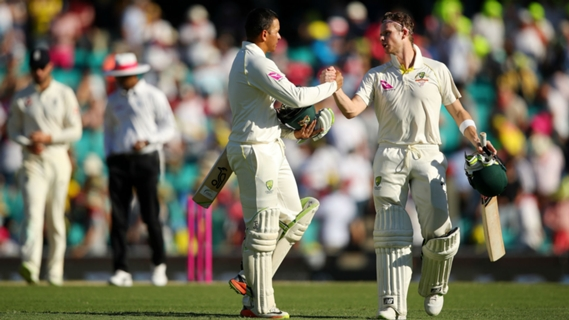 Article image for The Ashes Round-up: Khawaja and Smith make it advantage Australia