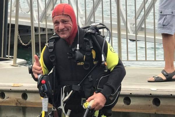 Man treks for six hours across the bottom of Sydney Harbour