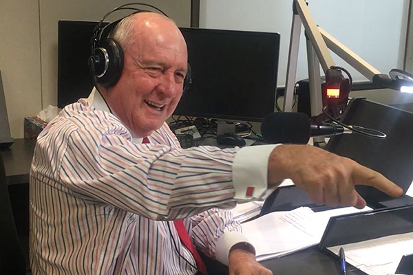 Article image for The 'most important initiative' Alan Jones is urging everyone to get behind