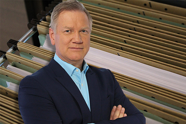 Andrew Bolt calls his involvement in cabinet files chaos a joke