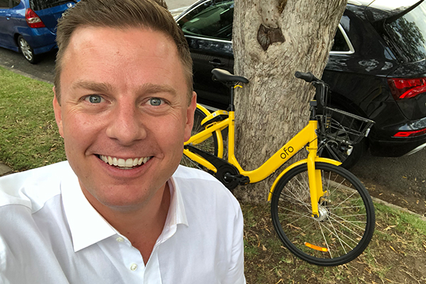 What should Ben do about this lonely share bike?