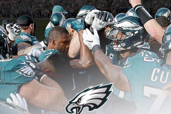 Philadelphia Eagles win the Superbowl