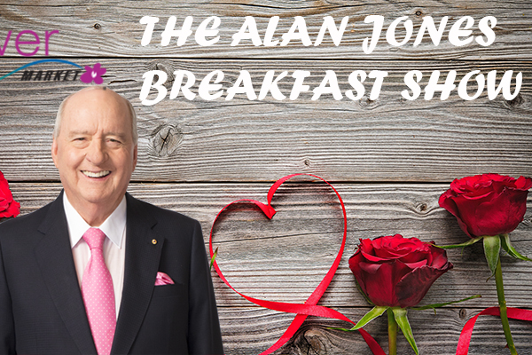 Article image for VIDEO | Valentine's Day with Alan Jones at the Sydney Flower Market