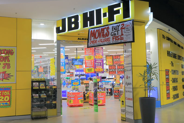 Electronic retail giant JB Hi-Fi's shares drop despite $151 million profit