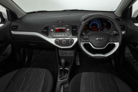 Kia Picanto: stable with good ride and handling
