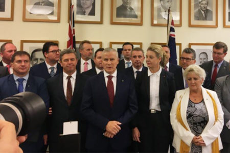 Michael McCormack elected as new Deputy PM