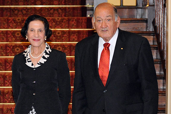 Article image for Sir Nicholas Shehadie to be farewelled in Sydney