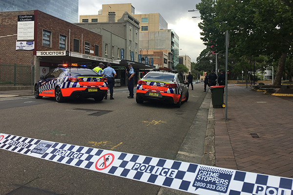 Police shut down Parramatta CBD due to suspicious package