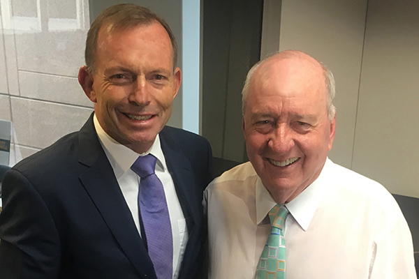 Australian political heavyweights call in to pay tribute to Alan Jones