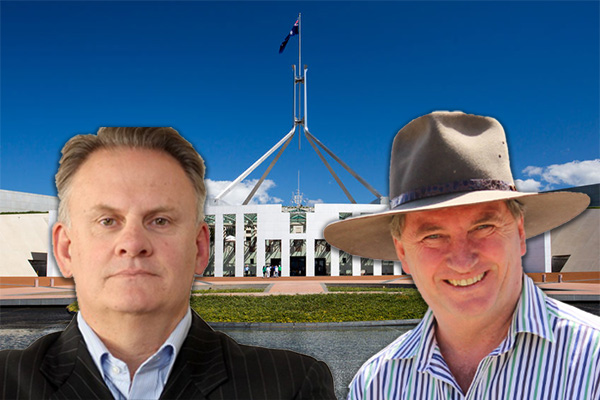 Article image for Mark Latham: Barnaby Joyce 'is a goner'