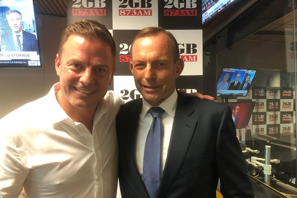 Article image for 'Captured by his department': Tony Abbott returns fire at Treasurer