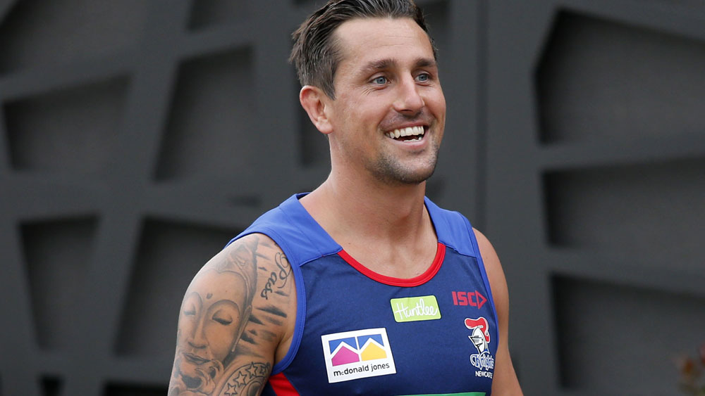 Mitchell Pearce settles into the Knights