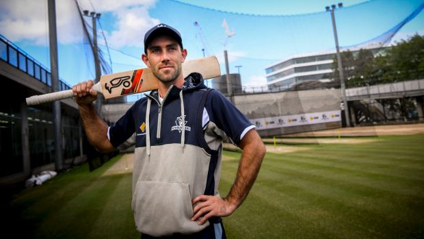 Glenn Maxwell brings up his ton by hitting the winning runs for six!