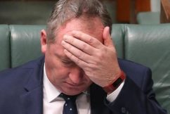 Barnaby Joyce had no choice but to resign