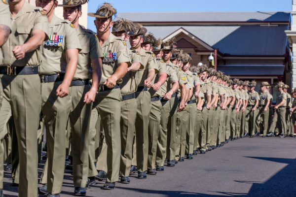 Children banned from marching in ANZAC parade