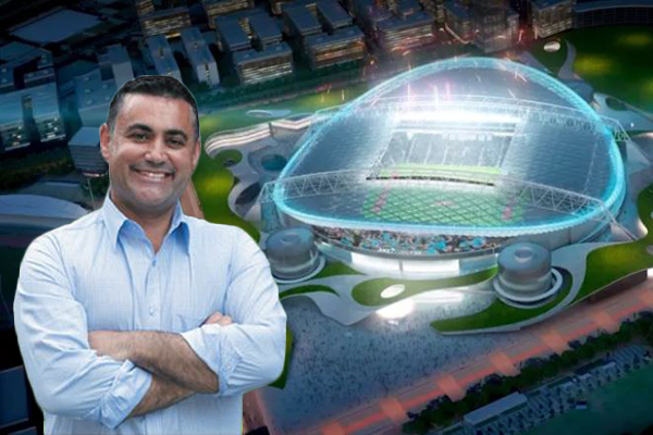 Article image for Deputy Premier insists he does support stadiums plan