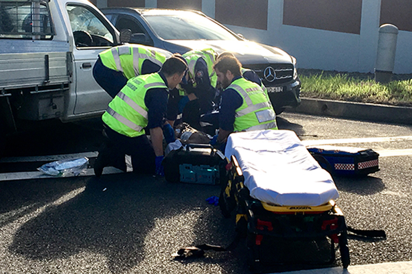 Article image for Bystanders praised as quick action saves man's life