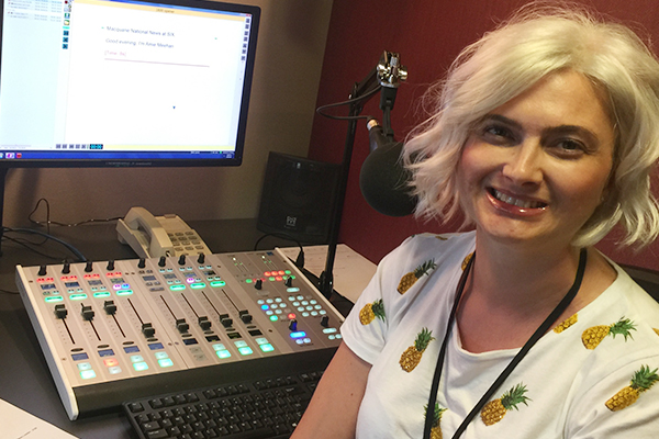 Our superstar news reader is inspiring us with a flashy new hair do
