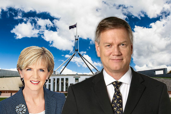 Article image for Andrew Bolt takes aim at Julie Bishop's use of taxpayer funds