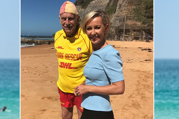 Meet Australia's oldest volunteer lifesaver, at 87-years-young