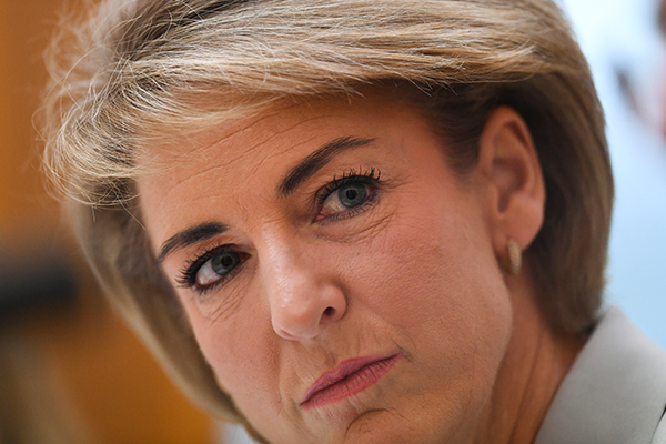 Michaelia Cash says she had 'no prior knowledge' over union raids