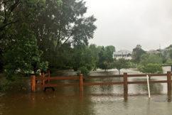 Drought-breaking rain turns to flooding