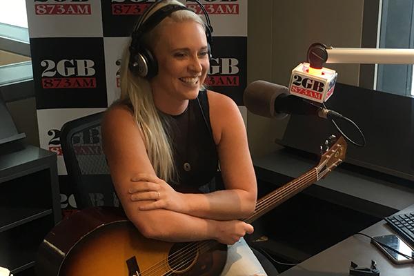 Article image for Golden Guitar winner Aleyce Simmonds performs in studio