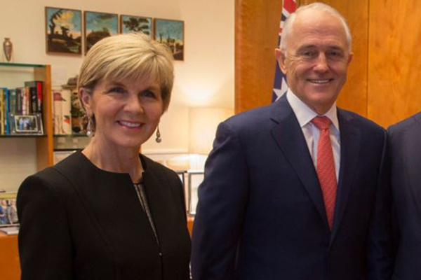 Article image for Graham Richardson says Julie Bishop will likely replace Turnbull