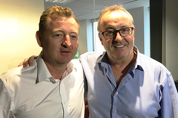 Article image for Renowned Aussie chef Luke Mangan joins Chris in studio