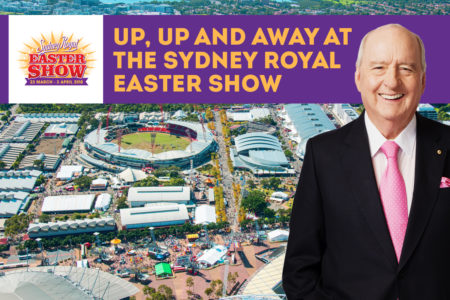 Up Up and Away at the Sydney Royal Easter Show