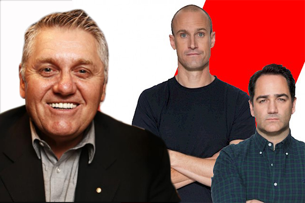 WATCH | Ray Hadley grills Fitzy and Wippa after he was almost put off air