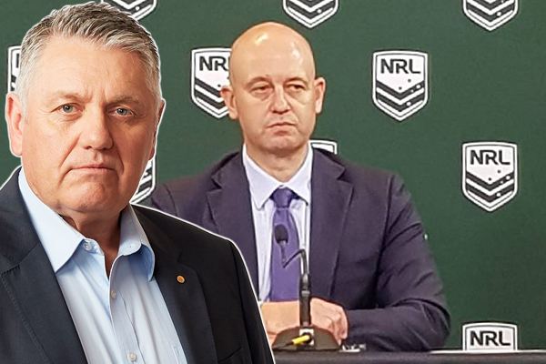 Article image for Ray Hadley unleashes on Todd Greenberg and the NRL