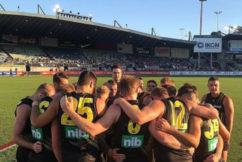 AFL kicks off: Reigning premiers take on fierce rivals