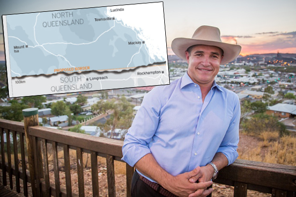 Article image for Politician wants Queensland to split into two states