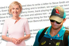EXCLUSIVE | Steve Smith responds to Deb Knight after her Tweet went viral