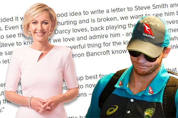 Article image for EXCLUSIVE | Steve Smith responds to Deb Knight after her Tweet went viral