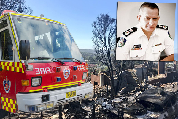 Why did the RFS reject help to battle the Tathra inferno?