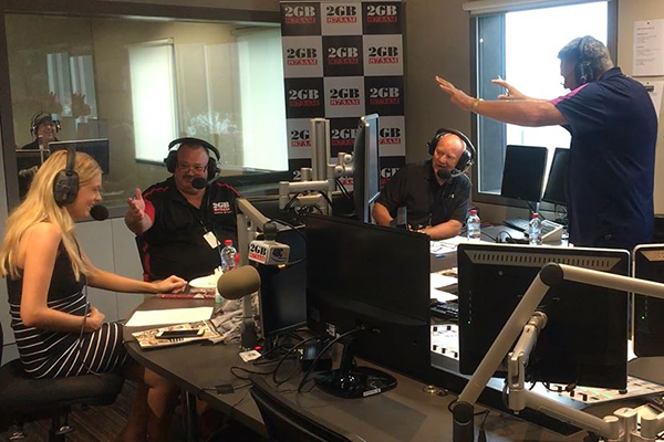 Article image for VIDEO   Erin Molan's maternity leave plan has everybody in stitches
